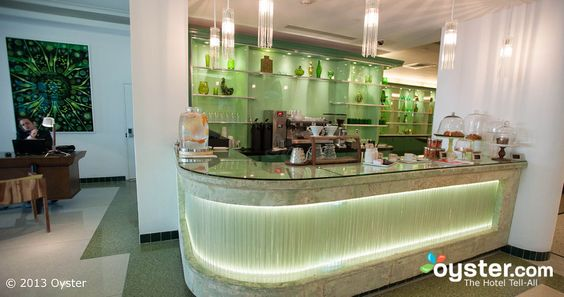 Green Bar Coffee Bar at The James Royal Palm