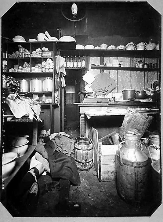 [Album of Paris Crime Scenes] attributed to Alphonse Bertillon  1901-1908