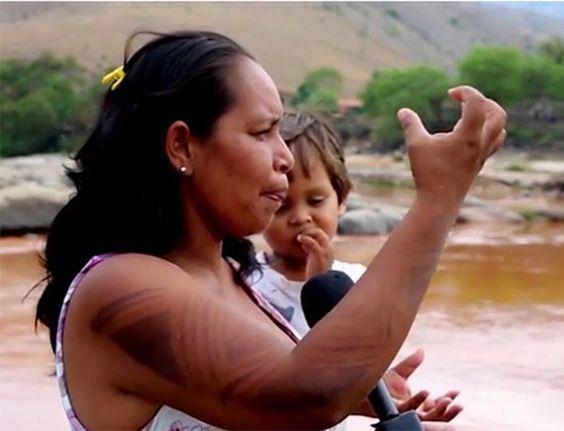 Para os indígenas do povo krenak, o rio Doce era muito mais que fonte de água....