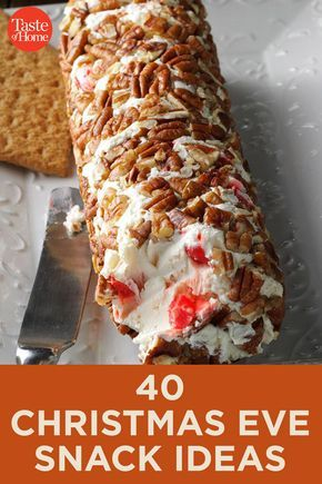 40 Christmas Eve Snack Ideas In 2020 Holiday Snacks Christmas Dishes Xmas Food