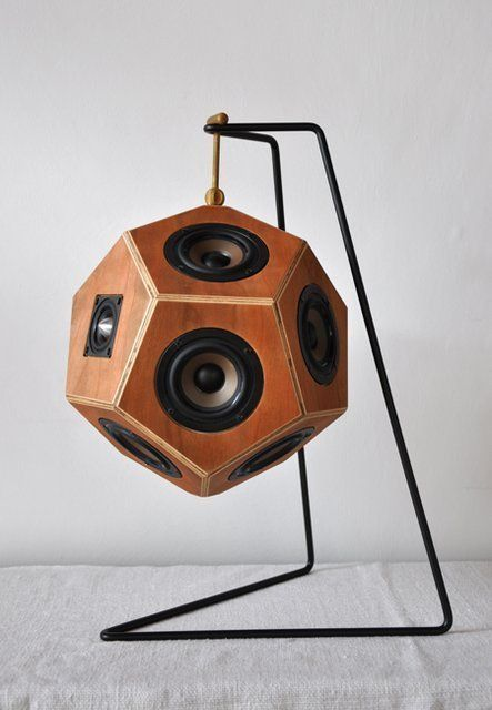The Dodecahedron Speaker System By Sonihouse Decor