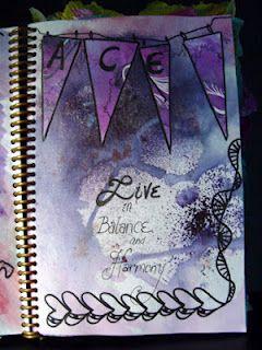 Love Light and Peace: Chicken Scratch Journal
