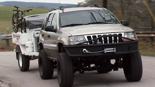 Xtreme 4x4 Expedition Jeep Grand Cherokee Cycling Still Two