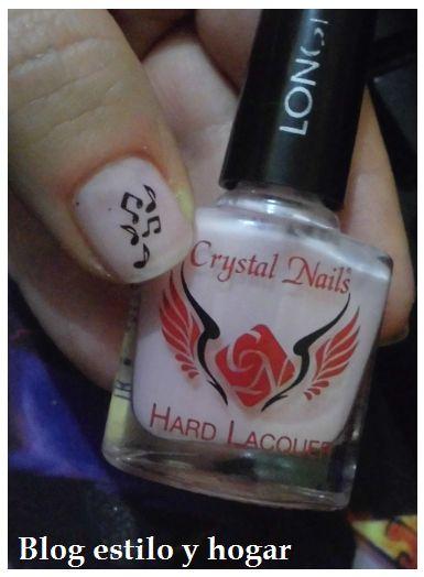 Esmaltes Crystal Nail
