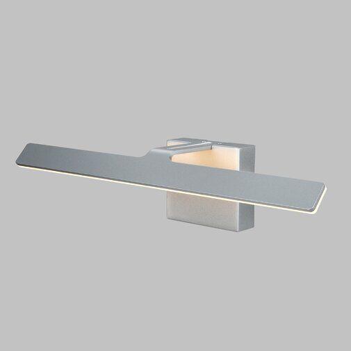 Crompton 1 Light Dimmable Led Silver Bath Bar Dimmable Led Bath Bar Led