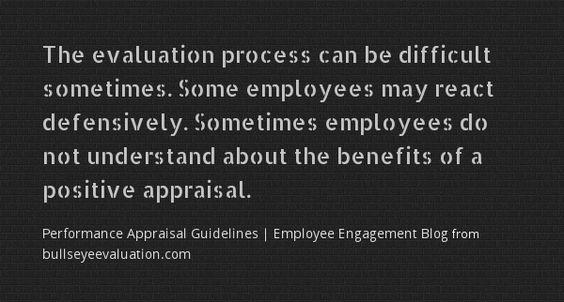 Performance Appraisal Guidelines | Employee Engagement Blog