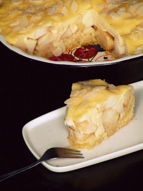 Bake: Tarta z jabłkami i budyniem