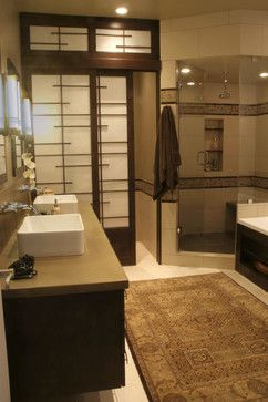 Japanese Themed Bathroom. Japanese Themed Bathroom Style Closet Doors  Modern Prefab House Design Frosted Sliding