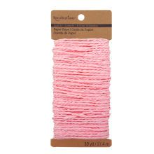 Recollections Craft It Paper Rope, Light Pink