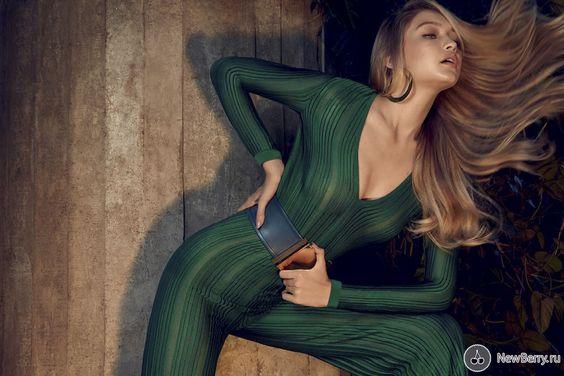 Gigi Hadid для журнала Vogue Brazil