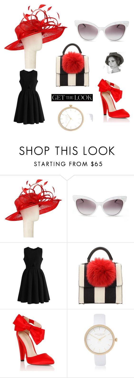"""""""@takealookmydear"""" by fashionshelter ❤ liked on Polyvore featuring John Lewis, Wildfox, Chicwish, Victoria Beckham, Les Petits Joueurs, Lipsy, River Island, GetTheLook and hats"""