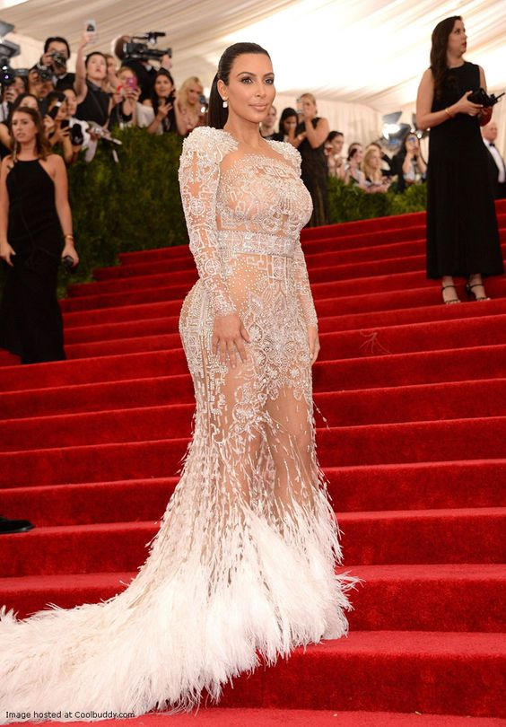 Kim Kardashian at China Through The Looking Glass Costume Institute Gala in NY