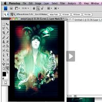 Creating the Spoiled Princess Fashion Poster - Screencast