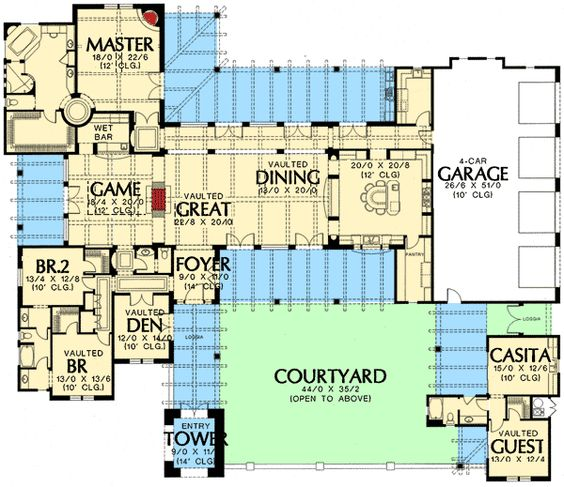 House plans jack o 39 connell and country homes on pinterest for Hill country flooring