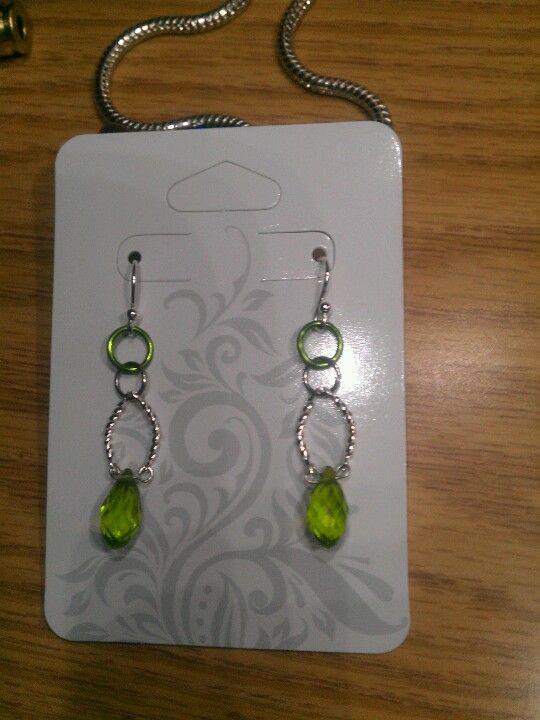 Green dangles...