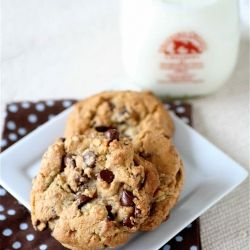 Brown Butter Chocolate Chip Cookies #foodgawker