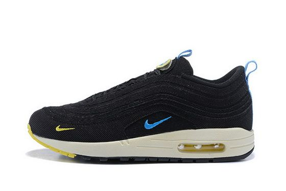 brand new coupon code buy popular Sean Wotherspoon X Nike Air Max 97 1 Hybrid Core Black Blue ...