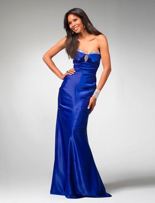 Vestidos de Noche de color Azul