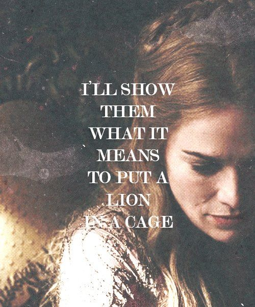Queen Cersei Lannister. I love her and I am always defending her to people... She is simply amazing ! #cersei #gameofthrones #lannister