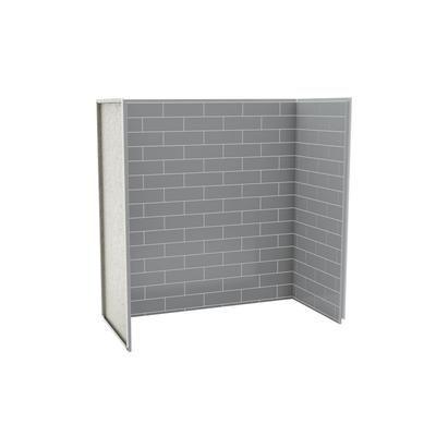 MAAX   Utile Tub Shower Wall Kit 6030 Metro Ash Grey   103414 301. MAAX   Utile Tub Shower Wall Kit 6030 Metro Ash Grey   103414 301