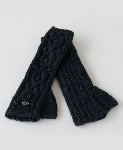 Our graphite arm warmers offer you a fun way to keep your wrists warm this winter.