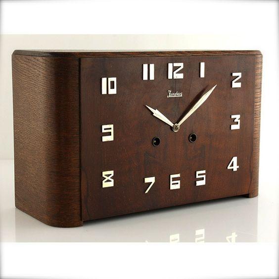 junghans artdeco bauhaus clock uhr w a t c h e s. Black Bedroom Furniture Sets. Home Design Ideas