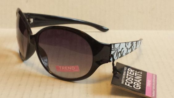 Foster Grant #women sunglasses oval butterfly model DECO black with pouch visit our ebay store at  http://stores.ebay.com/esquirestore