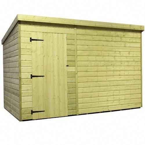 10 Ft W X 7 Ft D Tongue And Groove Pent Wooden Shed Empire Sheds Ltd Shedtypes Wooden Sheds Shed Shiplap Cladding