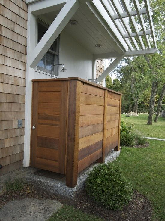 17 Best images about Outdoor ensuite on Pinterest Glass block