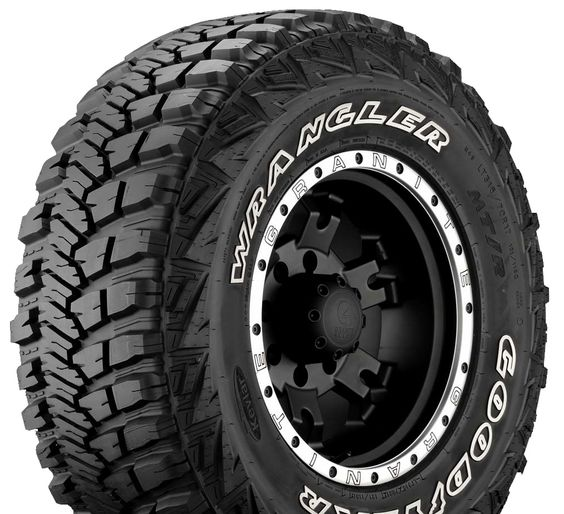 Goodyear Tires (Pre-owned Wrangler DuraTrac Jeep Truck