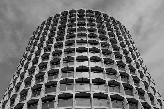 Space House. Kemble Street, London. by Richard Seifert