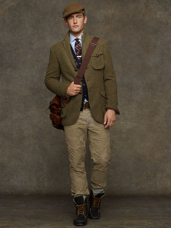 Messenger Tweed Sport Coat - Sport Coats Men - RalphLauren.com ...
