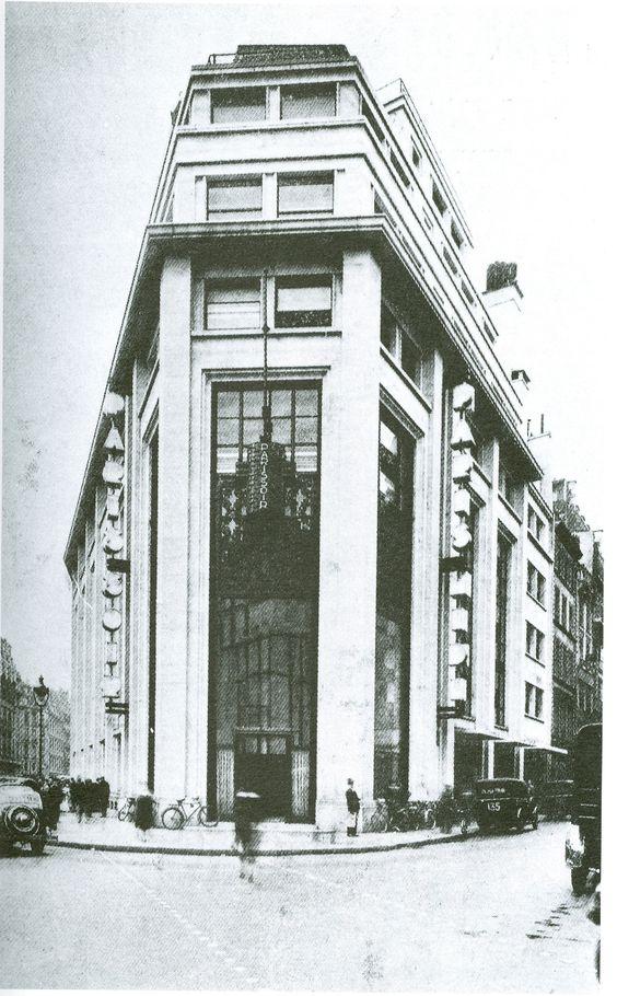 Paris 2e - 37 rue du Louvre, le vaisseau amiral de la presse à l'époque de…
