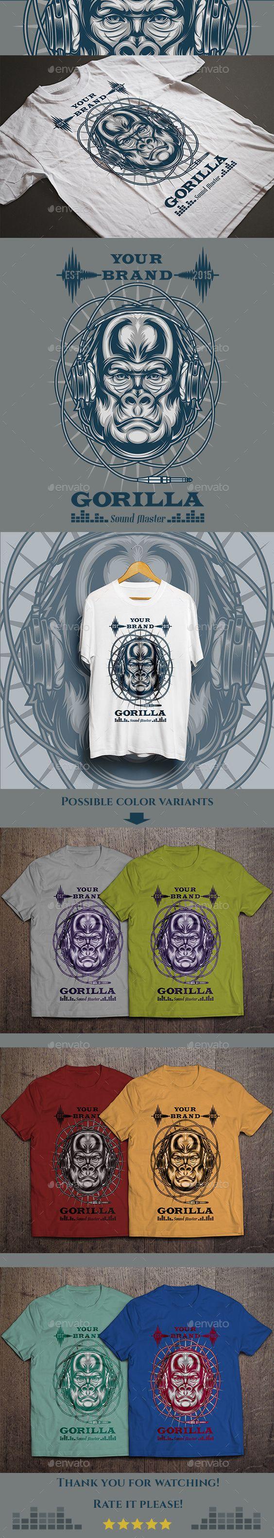 Gorilla Sound Master T-shirt - Download…