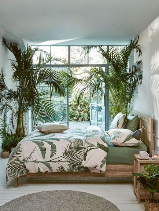 Lush Tropical Bedroom Ideas Shop The Look Bohemian Bedroom Design Tropical Bedrooms Bedroom Design