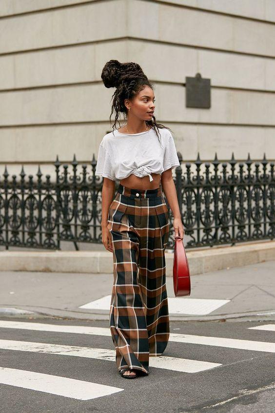 New York Fashion Week street style spring 2020. #fashion #womensfashion #streetstyle