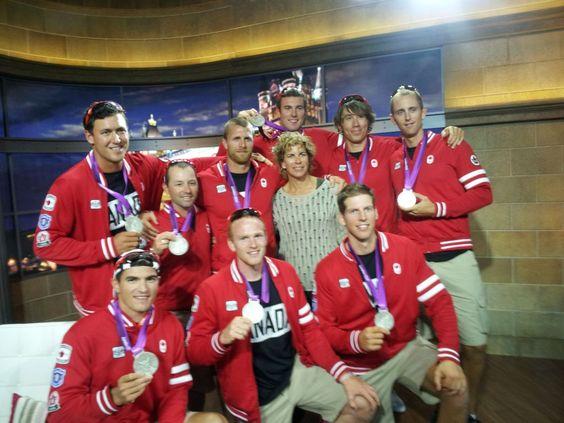 Medal 5: The men's 8 win silver in rowing [Twitter / MarnieMcB]