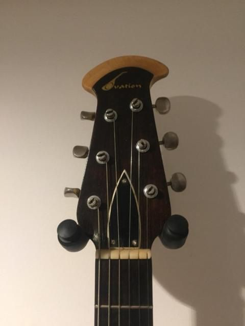 Very Quirky Guitar From The Late 60s These Were In Ovation S First Line Of Electric Guitars The To Ovation Guitar Electric Guitar Guitar