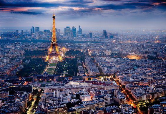Et Paris sera pour toujours la Ville Lumière… So Paris will forever be the City of Light…
