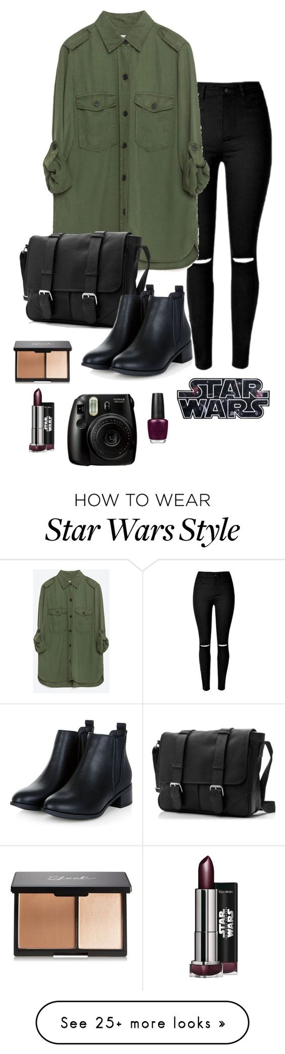 """..."" by kika-lv on Polyvore featuring Zara, OPI, women's clothing, women, female, woman, misses and juniors"
