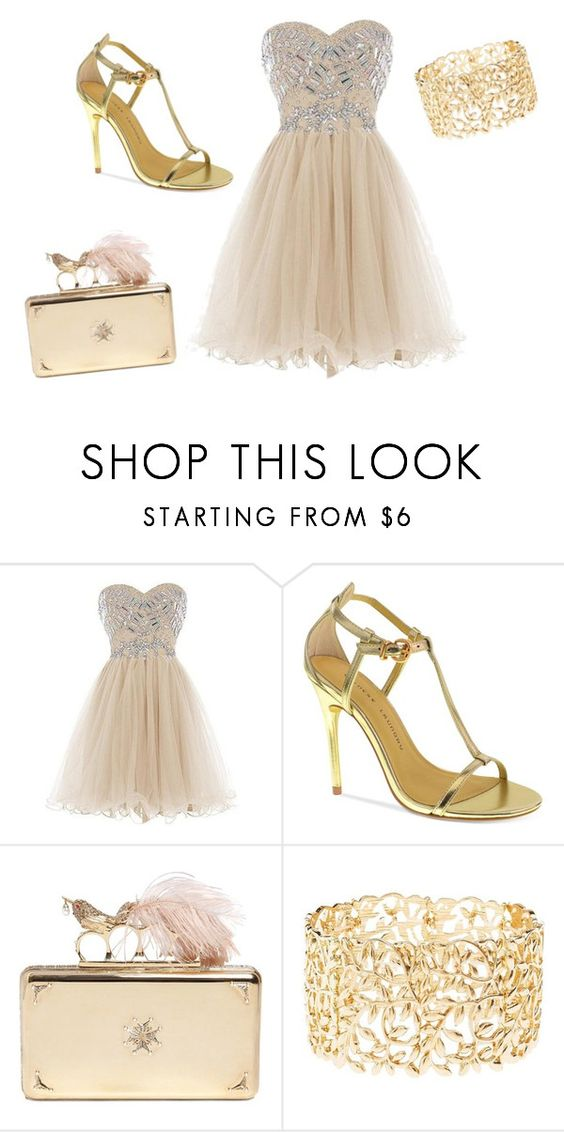 """""""Untitled #48"""" by erikahurtados-1 ❤ liked on Polyvore featuring Chinese Laundry, Alexander McQueen and Charlotte Russe"""