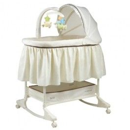 Fisher Price My Little Lamb Rocking Bassinet