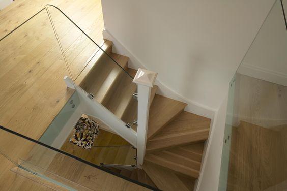 Loft Conversions Ascot - A1 Loft Conversions  Glass instead of wood