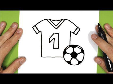 COMMENT DESSINER UN TEE SHIRT ET UN BALLON DE FOOTBALL