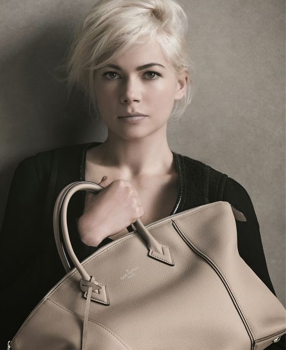 Nouvelle campagne publicitaire Louis Vuitton avec Michelle Williams
