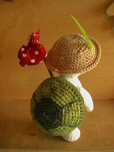 Amigurumi To Go Turtle : Tartarughe, Amigurumi and Cuccioli di tartarughe on Pinterest