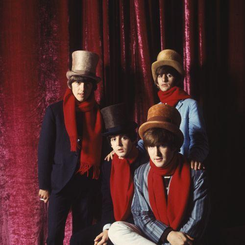 John Lennon, Paul McCartney, George Harrison, Ringo Starr - photo by Jerry Schatzberg