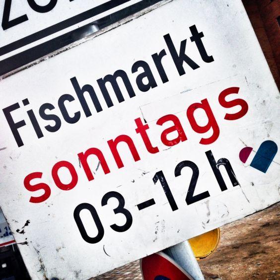 Fischmarkt | Typisch Hamburch #bei den Landungsbrücken