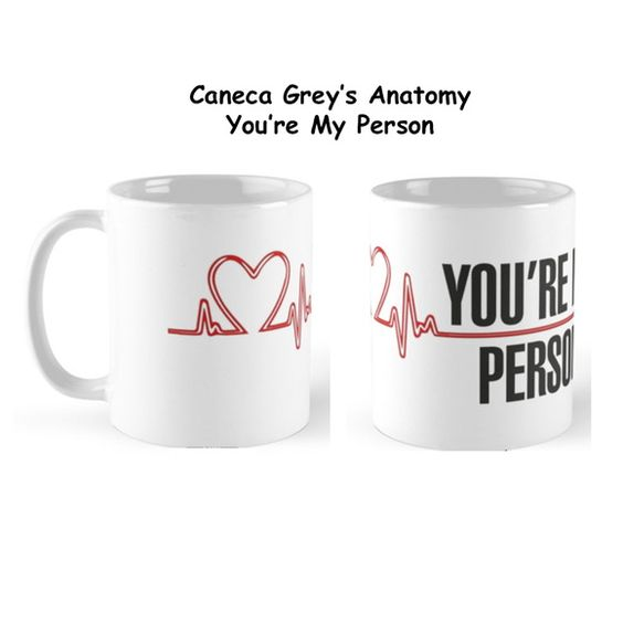 Caneca Grey's Anatomy My Person