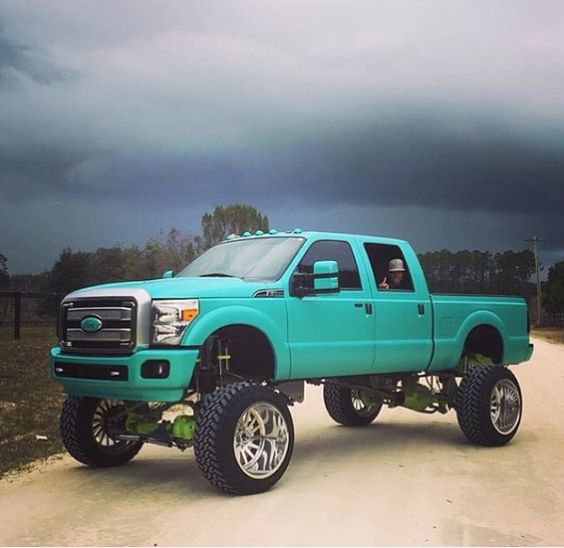 UNIQUE FORD TRUCK WITH A GREAT LIFT Rim & Tire #Financing http://www.wheelhero.com/topics/Rim--and--Tire-Financing